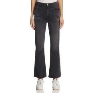 Current/elliott Raw-hem Bootcut Jeans